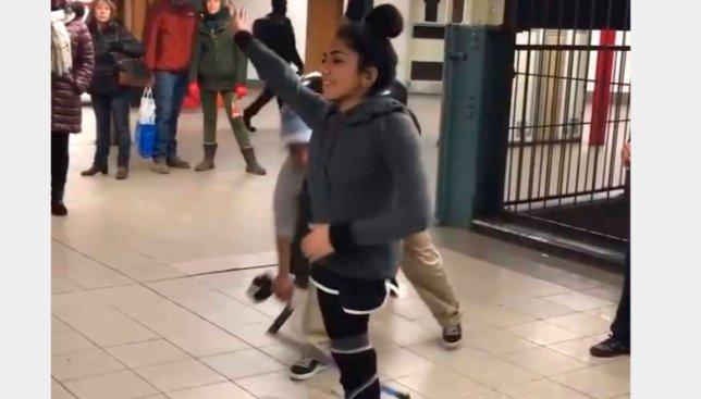 Девушка с ампутированной ногой поразила всех своими возможностями