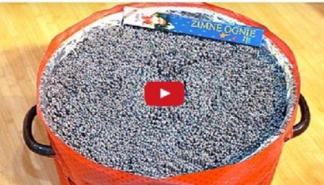 Что будет, если поджечь одновременно 10 000 бенгальских огней: невероятное видео