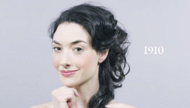Одна девушка, одна минута - 100 лет женской красоты