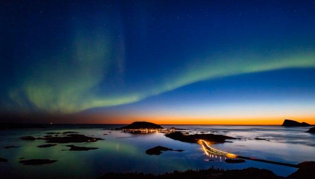 Умиротворяющий ролик: красоты Северного сияния