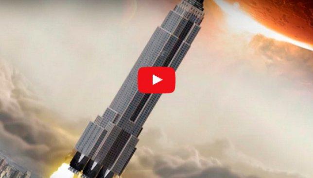 Небоскреб на Марс: ученые утверждают, что это реальность (Видео)
