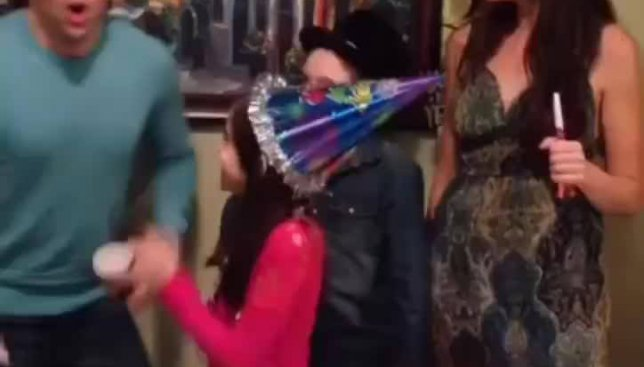 Как самая сумасшедшая семья в мире отметила Новый год