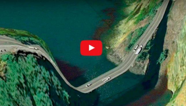 Когда кровь закипает в жилах: 10 самых опасных дорог в мире (Фото)