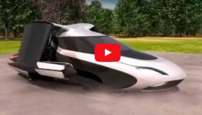 """Автомобиль как из фильма """"5 элемент"""": ведь он правда умеет летать"""