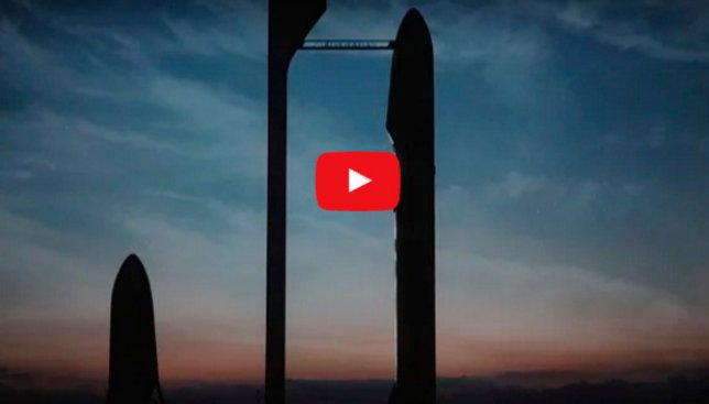 Как будет выглядеть полет SPACEX на Марс: опубликовано видео