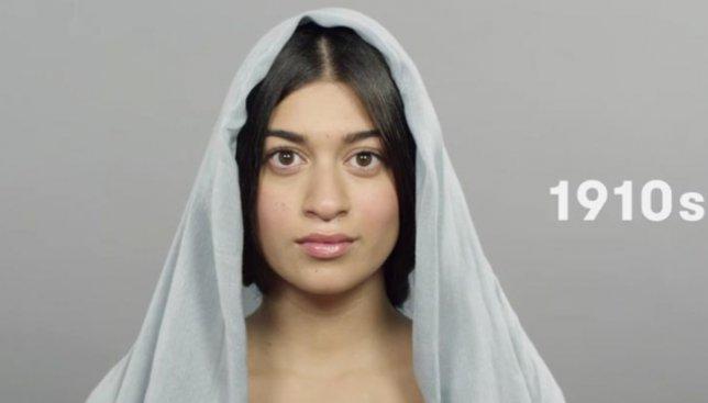 Эволюция женской красоты в странах, где на моду повлияла религия (Видео)