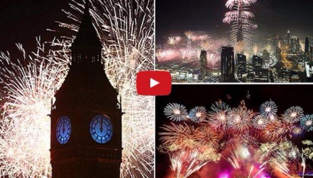 Как красочно отпраздновали Новый год в разных странах мира