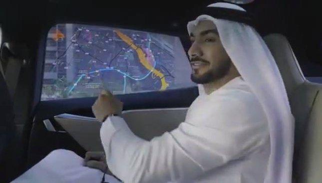 До чего техника дошла: в Дубаи планируют ввести такси без водителя (Видео)
