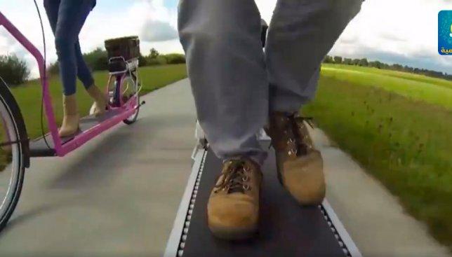 Изобрели новую версию велосипеда: теперь в нем не нужно крутить педали